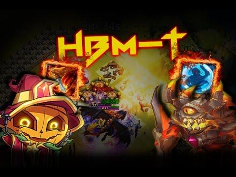 Castle Clash: Two Heros VS HBM-T ❚ F2P