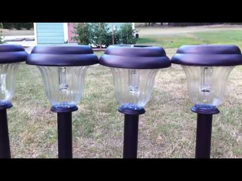 How To Charge Batteries Using A Solar Garden Light