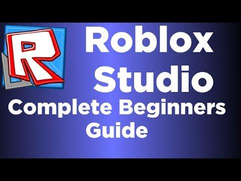 (Voiced) Roblox Studio Complete Beginner Tutorial - Basics /Ep.1