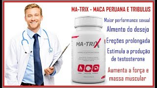 Matrix Suplemento Masculino Homem Ereção Aumento Desejo Sexual Funciona? Comprar? ✅