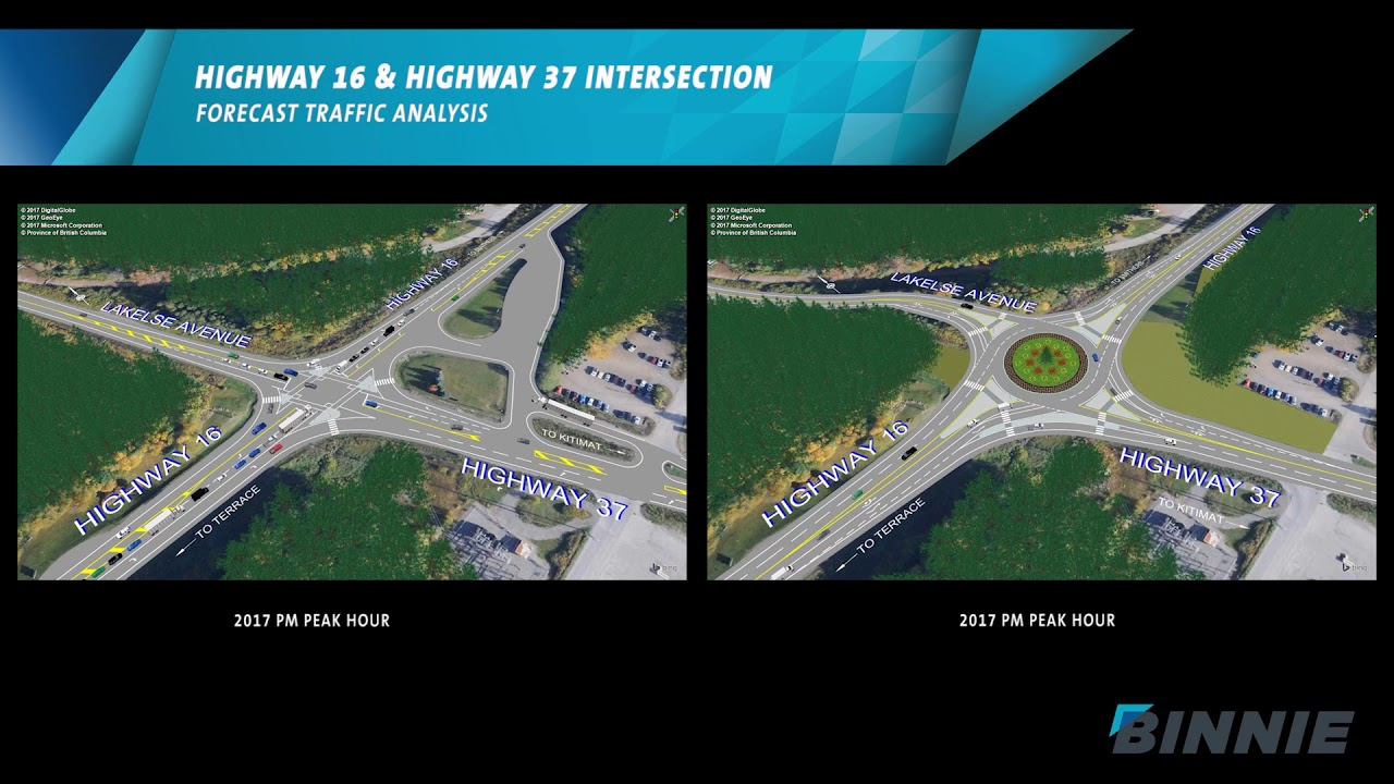 Highway 16 and 37 Intersection - Province of British Columbia
