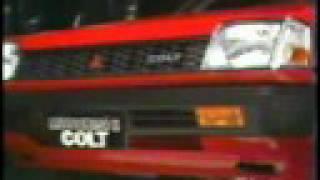 Mitsubishi Colt 45 ad [1984]