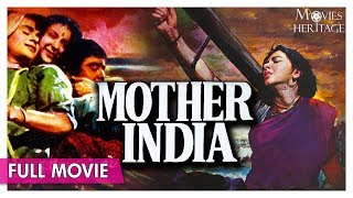 Mother India 1957 Full Movie | Nargis , Sunil Dutt | Superhit Hindi Classic Movies | Movies Heritage