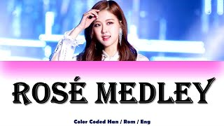 ROSÉ (BLACKPINK) - Let It Be, You & I, Only Look At Me (Color Coded Lyrics Han/Rom/Eng)