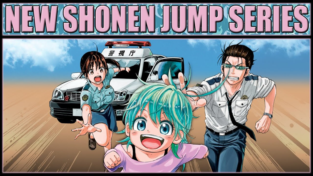 Hard-Boiled Cop and Dolphin - New Shonen Jump Manga ( First Thoughts / Chapter 1 Review )