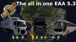 ETS2 1.36 - EAA 5.3 is the first AIO version and this is how you use it