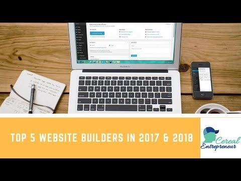 Top 5 FREE Website Builders in 2017 & 2018