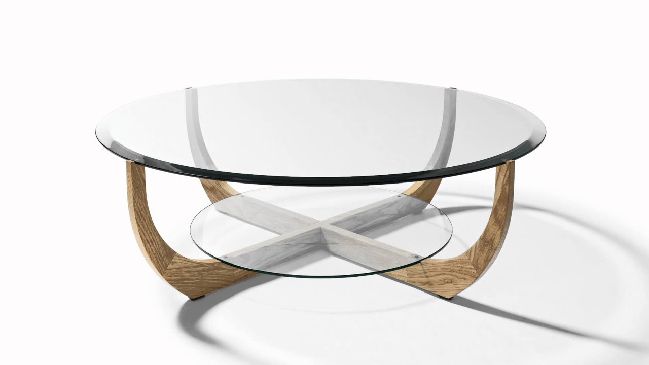 Luxury Glass Coffee Table Juwel From Wharfside Youtube