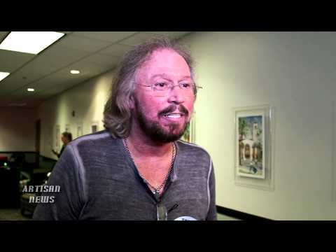 BARRY GIBB ON BITTERSWEET BEE GEES GRAMMY, ED SHEERAN AND JOHN MAYER REHEARSE
