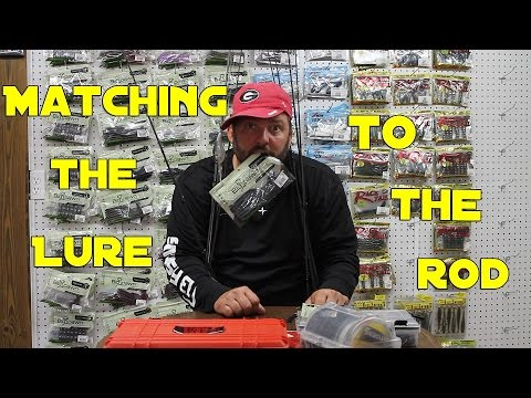 Matching A Lure To The Right Rod And Reel - Finesse Bass Fishing
