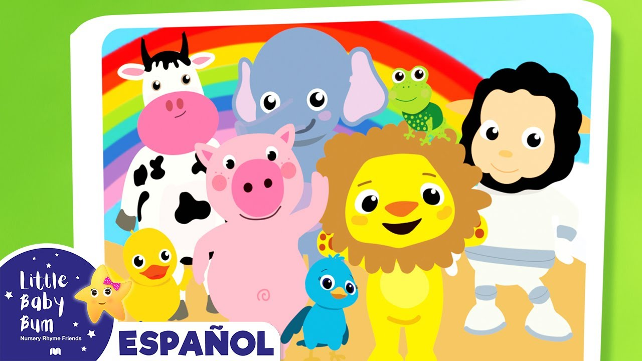 Sonidos de los Animales - Canciones Infantiles   Little Baby Bum en Español