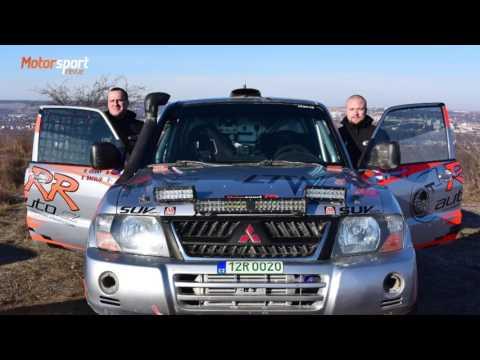 Baculík s Černým na startu Intercontinental rally 2017 - do Dakaru!