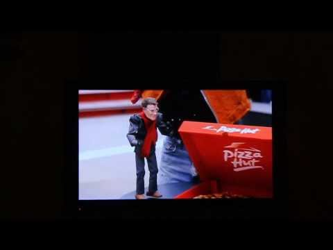 Ricky Syers and Little Howie (Long) in Pizza Hut commercial pre-game super bowl (tequila minsky)