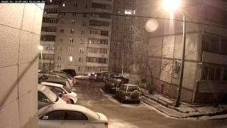 Демо IP камеры HiWatch DS N201 НОЧЬ