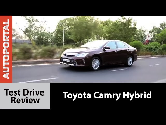 Toyota Camry Hybrid 2015 Test Drive Review - Autoportal