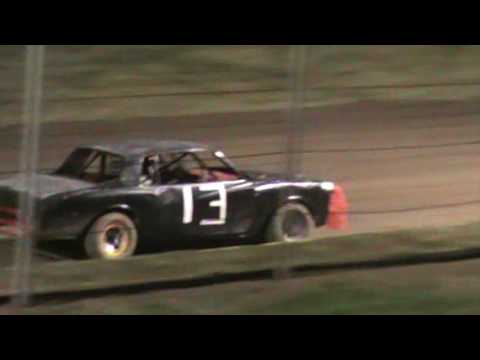 Factory Stock feature at Humboldt Speedway for Ethan Vance #13 7/21/17