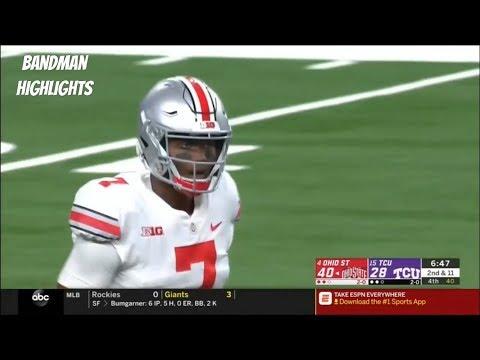 be26fd842d Dwayne Haskins Ohio State vs TCU highlights 9.15.18  352 Yards 3TD