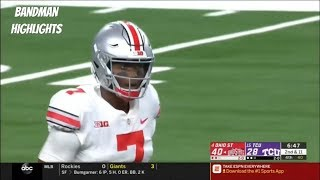Dwayne Haskins Ohio State vs TCU highlights/9.15.18/ 352 Yards 3TD