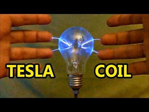 Tesla Coil Plasma Ball