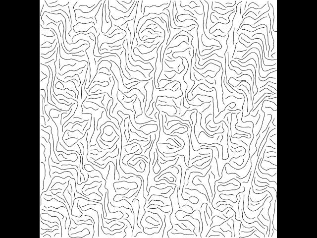 Equidistant Streamlines / Flow Lines