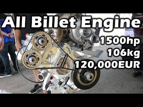 4.0L | 4 Cylinders | 1500hp | The *nearly* All Billet RP968 Engine