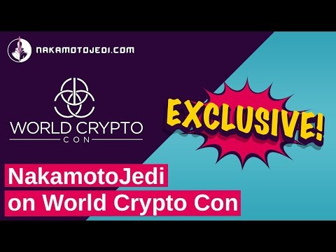 bitcoin and blockchain in Las Vegas -  World Crypto Con