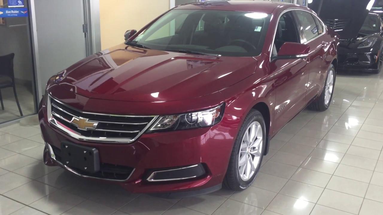 2017 Chevrolet Impala Lt Siren Red Tintcoat Roy Nichols Motors Courtice On
