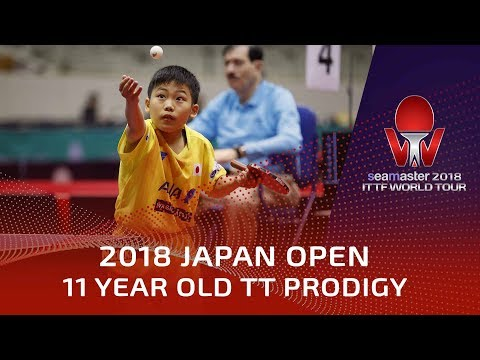 11 Year Table Tennis Prodigy