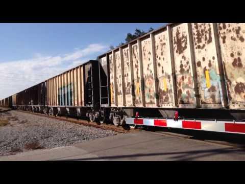 CSX Aggregate Train K995-19 on the A-Line, Tampa, FL, 12/20/15