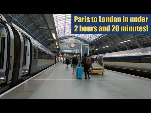 Eurostar Standard Class Review : Paris To London In 2 Hours 20 Minutes