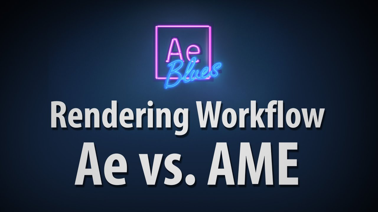 How To Export Your Videos From After Effects - Surfaced Studio