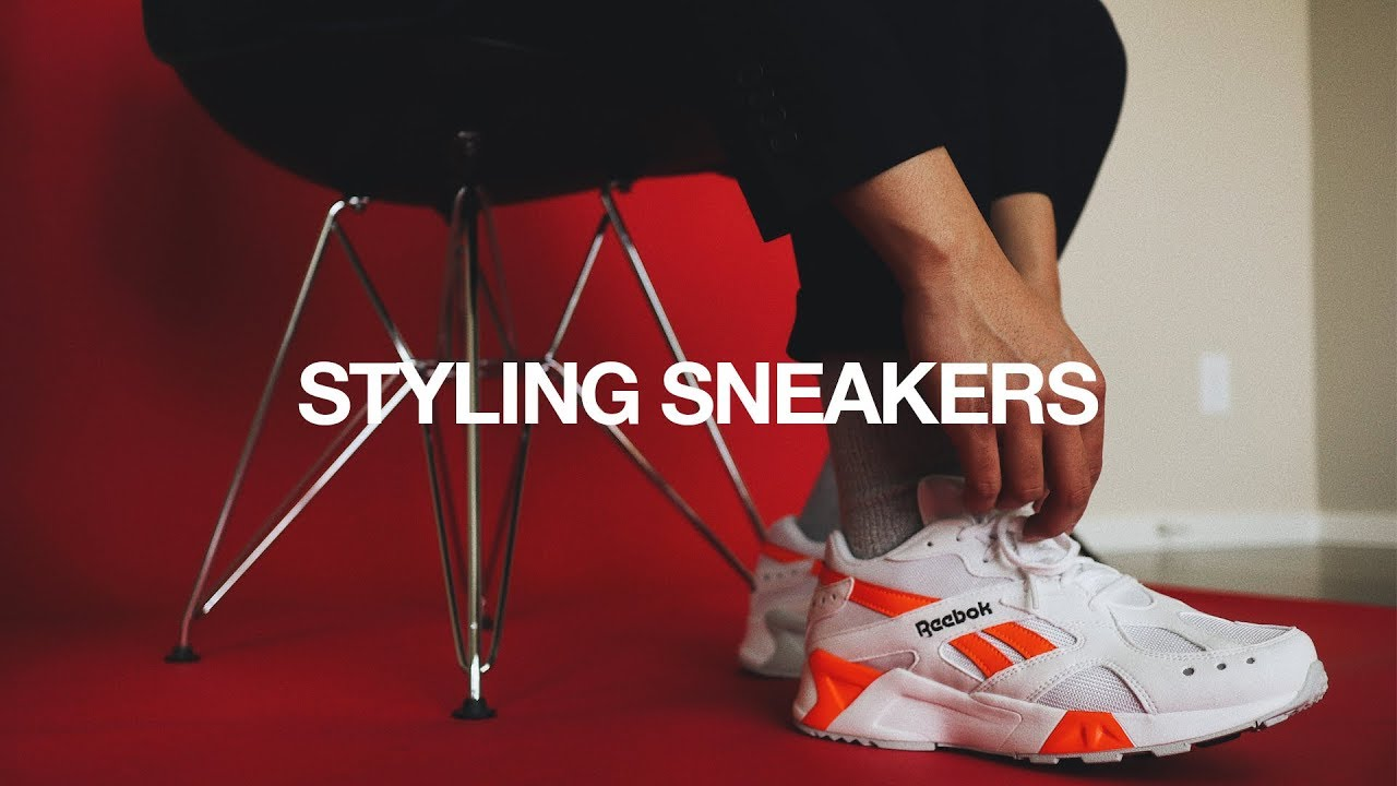 827107d8880b How To Style SNEAKERS w  Everyday Outfits - YouTube
