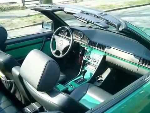 mercedes w124 cabrio convertible cabriolet amg part 2 of. Black Bedroom Furniture Sets. Home Design Ideas