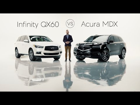 2019 infiniti qx60 road test review vs the 2019 acura mdx