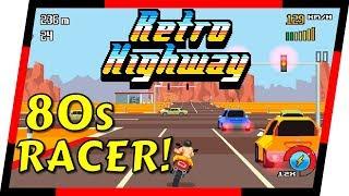 Retro Highway - ARCADE MOTORCYCLE RACER   MGQ Ep. 96
