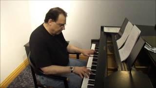 PIANO SIMS - Walk Like a Man