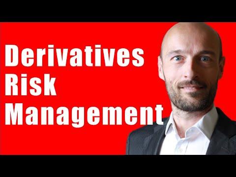 How do you risk manage portfolios that contain financial derivatives?