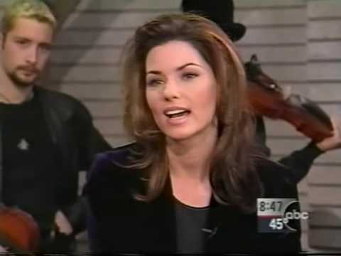 Shania Twain - Interview & Don't Be Stupid (GMA 1998)