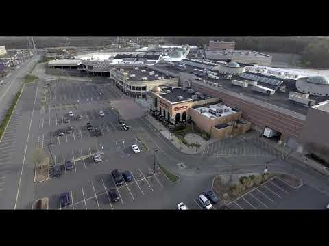 Menlo Park Mall Aerial Views during Quarantine