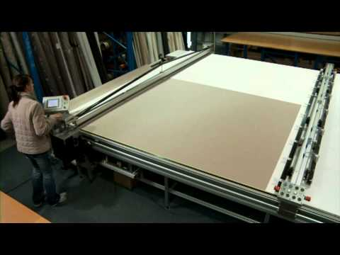 4200 series Cutting Table & 3600 series Creasing Table video production