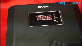 стабилизатор напряжения Sven VR-P 10000 обзор