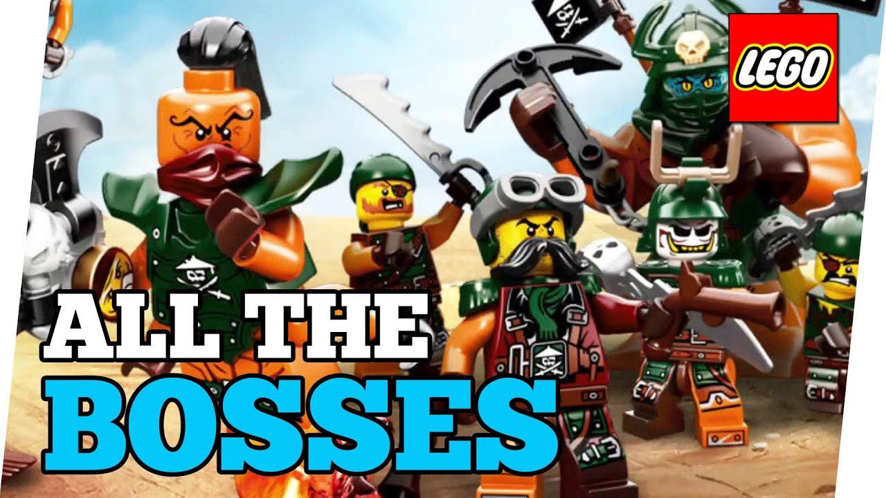 NINJAGO Skybound ALL THE BOSSES - Lego Games - YouTube