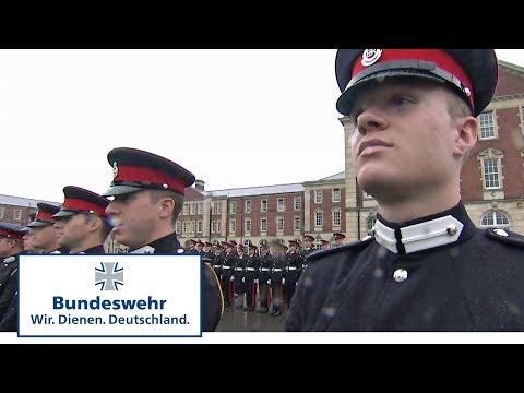 Offizieranwärter der Bundeswehr auf der Royal Military Academy