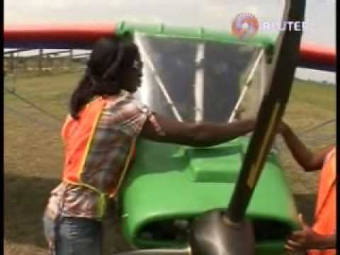 Taking to the skies in Ghana.wmv