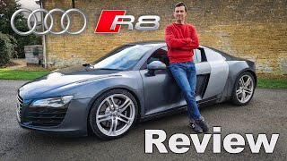 Audi R8 V8 review - see why it's a £40,000 bargain supercar!