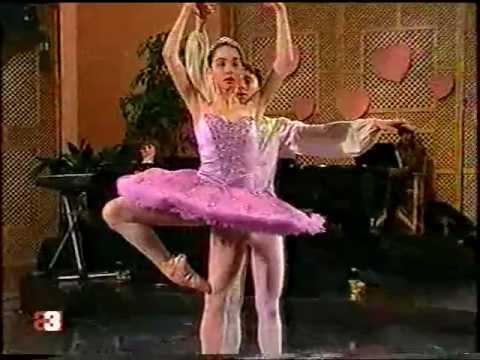 """""""Cascanueces"""" Tamara Rojo- Carlos Lopez, 1990 TV"""