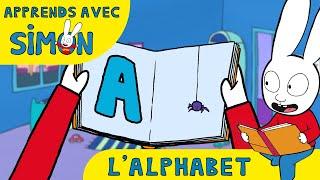 Simon - L'alphabet avec Simon HD [Officiel] Dessin animé pour enfants