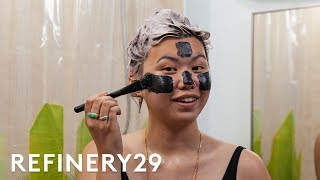 I Tried A Full Charcoal Routine For 7 Days | Beauty With Mi | Refinery29