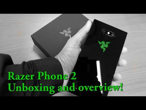 Razer Phone 2 - Unboxing
