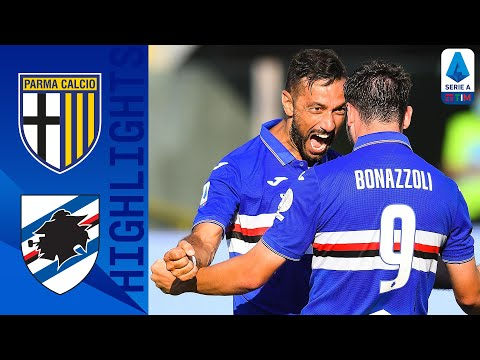 Parma Sampdoria Goals And Highlights